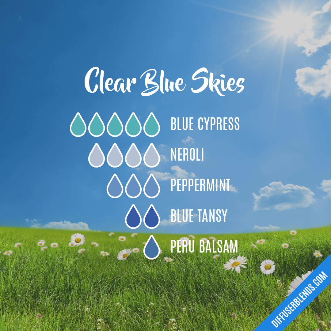 Clear Blue Skies | DiffuserBlends com