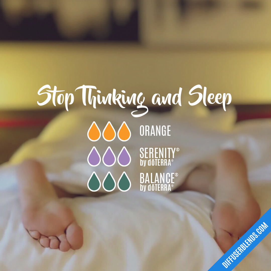 Stop Thinking And Sleep Diffuserblends