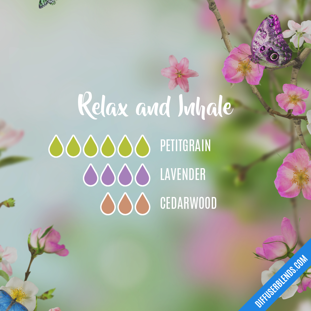 Relax and Inhale — Essential Oil Diffuser Blend