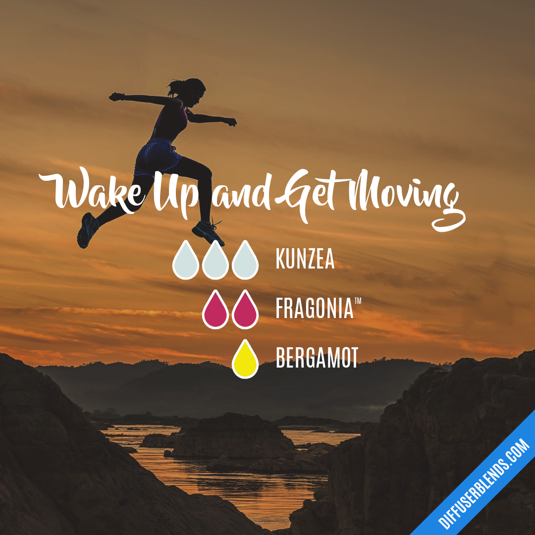 Wake Up And Get Moving Diffuserblends Com