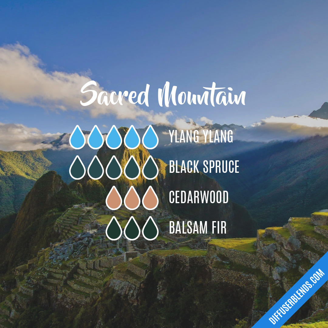 Sacred Mountain — Essential Oil Diffuser Blend