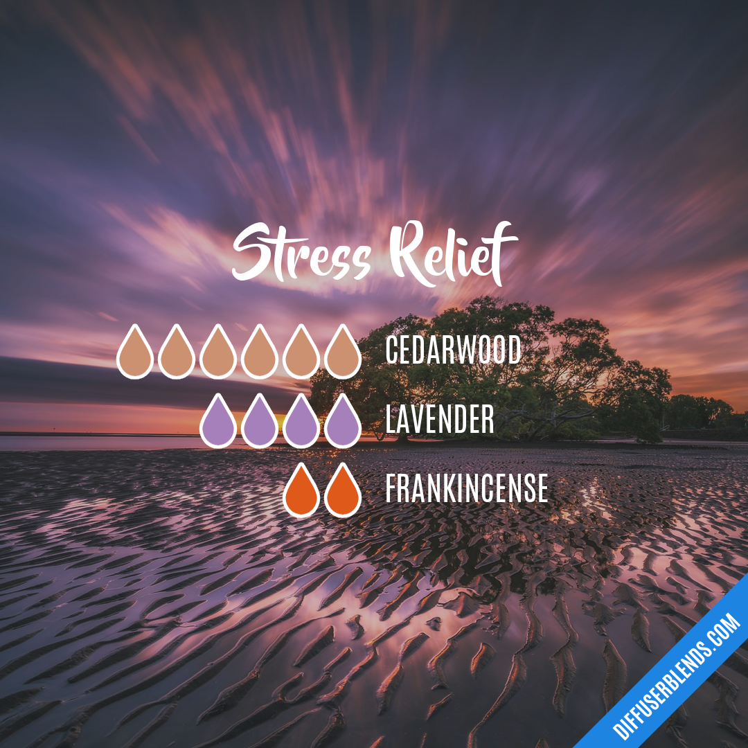 Stress Less — Essential Oil Diffuser Blend