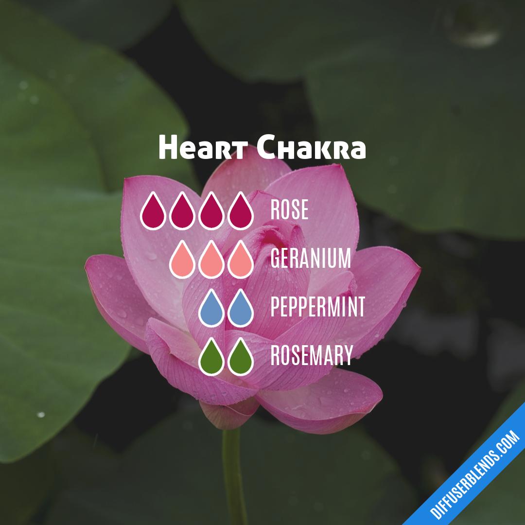 Heart Chakra | DiffuserBlends com