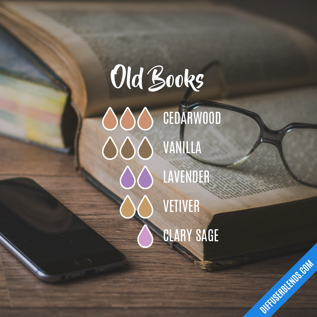 Old Books — Essential Oil Diffuser Blend